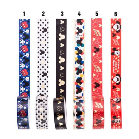 Washi Tape Mickey Mouse Molin - Unidade