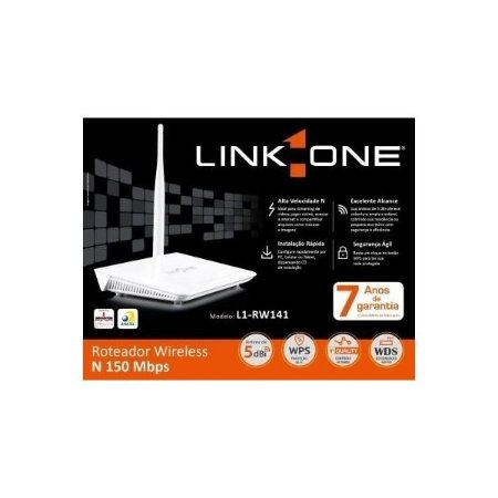 ROTEADOR LINK-ONE 150N WIRELESS L1-RW141
