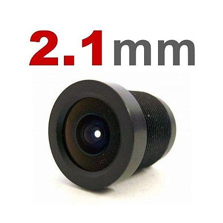 Lente 2,1mm para Câmeras Infra e Mini Câmeras