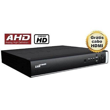 DVR AHD HÍBRIDO LUXVISION 4 CANAIS - HDMI