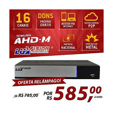 DVR AHD-M HÍBRIDO LUXVISION 16 CANAIS - HDMI