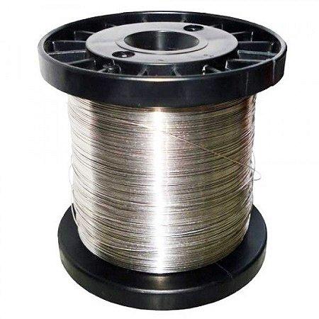 Fio de Aço Inox para Cerca Elétrica 0,60mm - 300 Metros