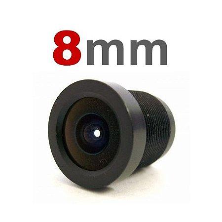 Lente 8mm para Câmeras Infra e Mini Câmeras