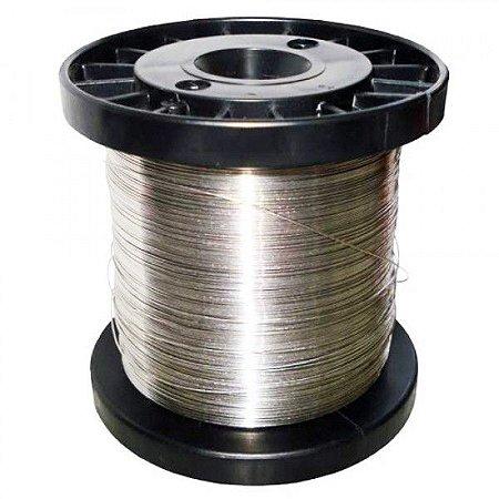 Fio de Aço Inox para Cerca Elétrica 0,90mm - 190 Metros