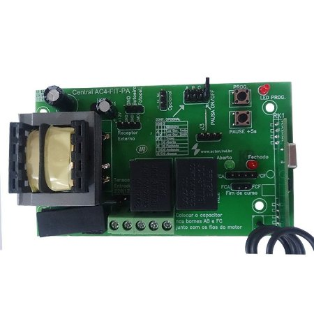 PLACA CENTRAL UNIVERSAL ACTON AC-4 FIT-PA PARA MOTOR