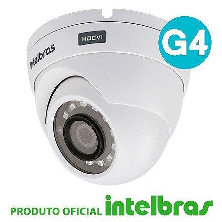 Câmera Intelbras Dome Multi HD 1010D G4 Alta Definição (1.0MP | 720p | 3.6mm | Plast)