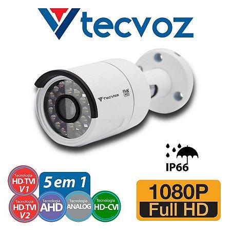CÂMERA BULLET SUPER HD TECVOZ QCB-236 TECNOLOGIA FLEX - FULL HD