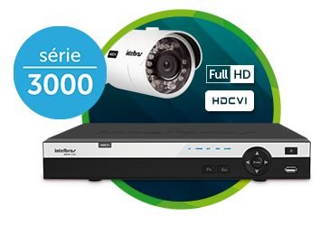 DVR INTELBRAS 08 CANAIS MULTI HD FULL HD MHDX 3008