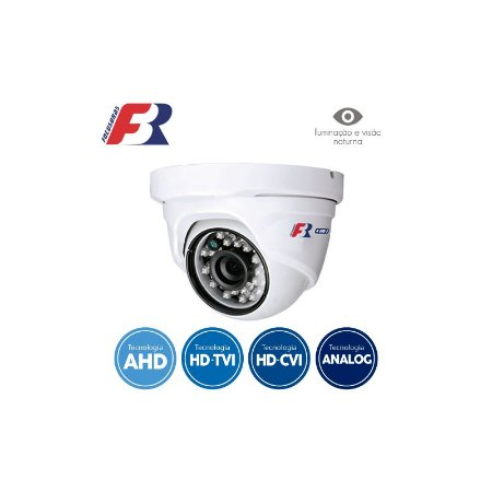 CÂMERA FBR FOCUSBRAS DOME FLEX HD FS-PDF1M ALTA DEFINIÇÃO (1.0MP | 720P | 2.8MM | PLAST)