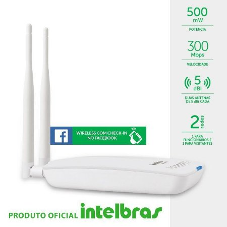 Roteador Wireless com Check-in no Facebook