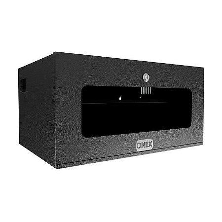 Mini Rack 5u - Porta com Acrílico