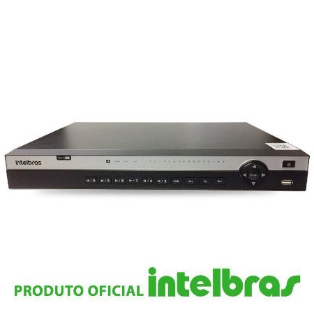 DVR Intelbras 16 Canais Multi HD Full HD MHDX 3116