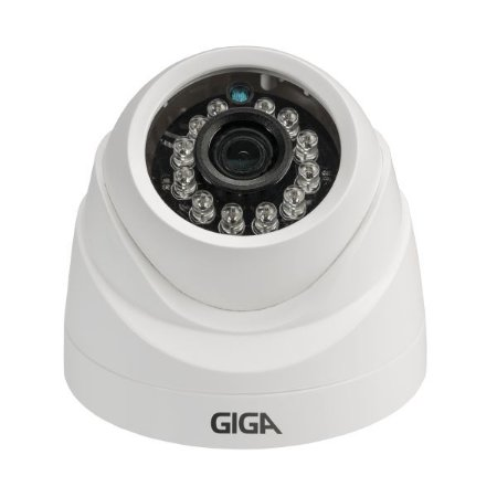 Câmera Giga GS0012 Dome Open HD Plus IR 20M UTC DWDR (1.0MP | 720p | 2.6mm | Plast)