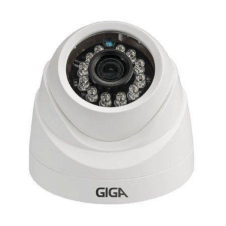 Câmera Giga GS0026 Dome Open HD Sony Exmor IR 20M UTC DWDR (2.0MP | 1080p | 3.6mm | Plast)