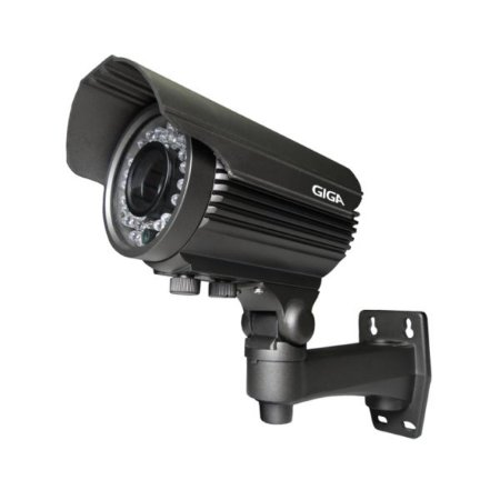 Câmera Giga GS0033 Bullet Varifocal Open HD Sony Exmor IR 50M UTC DWDR IP66 (2.0MP | 1080p | 2.8~12mm | Metal)