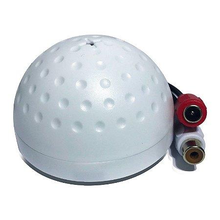 Microfone Giga GS0073 Para CFTV - Cobertura 5 Metros
