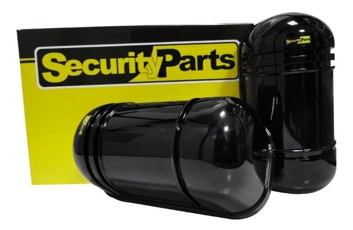 Sensor de Barreira Infravermelho Ativo com Feixe Duplo 100 Metros - Security Parts