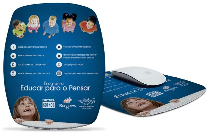 Mousepad Programa Educar para o Pensar - Azul