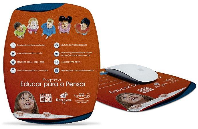 Mousepad Programa Educar para o Pensar - Vermelho