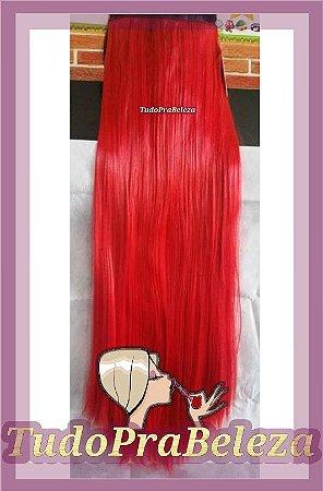 Aplique Vermelho Vivo Liso 60cm