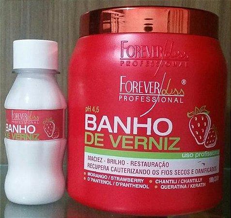 Banho Verniz Morango  100g - Foreverliss Fracionado