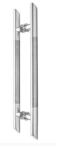 Puxador Inox Misto 45° - KROMUS