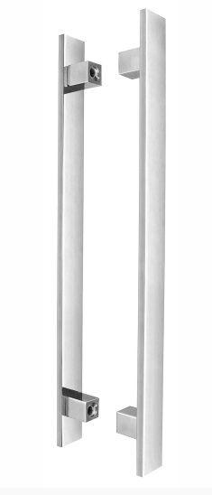 Puxador Nilo-H 40x15 Inox Polido - KROMUS