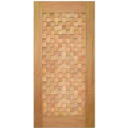 Porta de Madeira Maciça - Detalhe