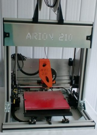 Impressora 3D - ARION 210L  (Mesa de 300 x 200 mm)