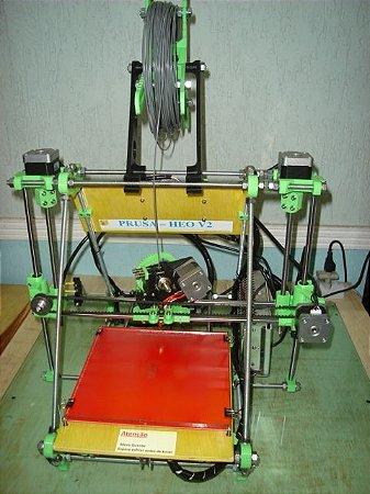 Impressora 3D Prusa Mendel HEO V2