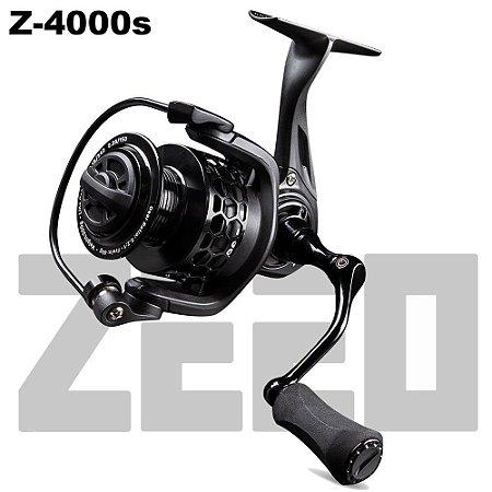 Molinete De Pesca Zeeo Z-4000s 6 Rolamentos Drag 6kg Peso 239g