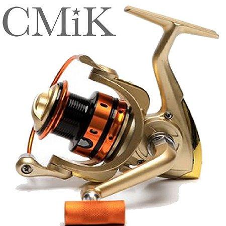 Molinete Mr 4000 Cmik Rec 5.2:1 Carretel Aluminio