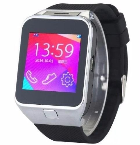 Relógio Bluetooth Smartwatch Gear DZ09 para Iphone E Android