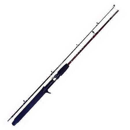 Vara de pesca Ottoni Peggy, fibra de vidro, 1,80 Metros, 20 a 25 Libras