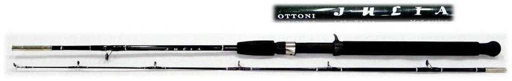 Vara Para Pesca Ottoni Julia com 1,80 metros de fibra de vidro