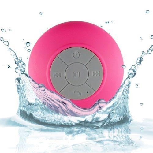 Caixa De Som Bluetooth a Prova Da Agua Portatil para Dispositivos Bluetooth - Rosa