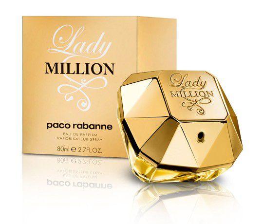 Perfume Lady Million Paco Rabanne Eau de Toilette - Feminino 80ml