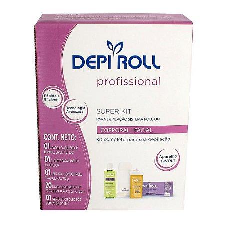 Depi Roll Profissional Kit Para Depilação Roll-On Bivolt