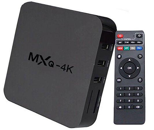 Tv Box Android MXQ Netflix Smart Tv Youtube Facebook - Aplicativos