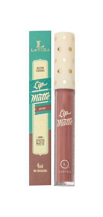 Lip Matte Latika Batom Líquido Rosa nº 30