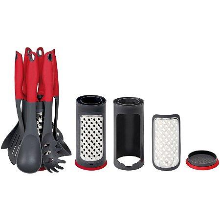 Conjunto De Utensílios Para Cozinha Nylon 7 Peças - MOR