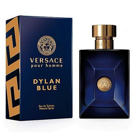 Perfume Versace Dylan Blue Masculino Eau De Toilette 100ml