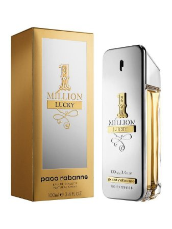 Perfume Paco Rabanne One Million Lucky Masculino 100ml