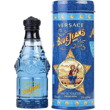 Perfume Versace Blue Jeans Masculino 75ml