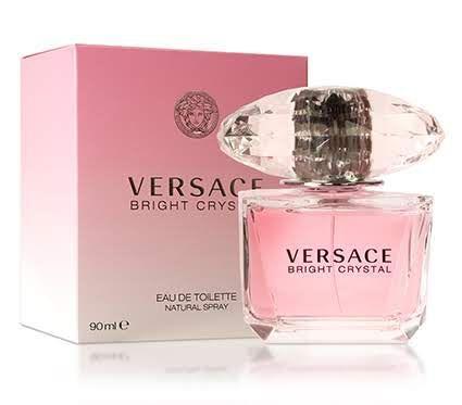 Perfume Versace Bright Crystal Feminino 90ml