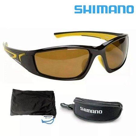 Óculos de Sol Polarizado Shimano Beastmaster - Amarelo