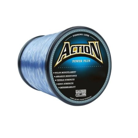 Linha Monofilamento Marine Sports Action Grey 600m 0.50mm 38lbs 17.1kg