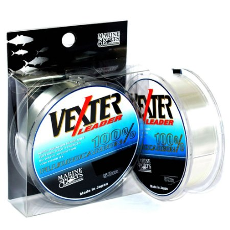 Linha Fluorcarbono Leader Marine Sports Vexter 0.42mm 50m