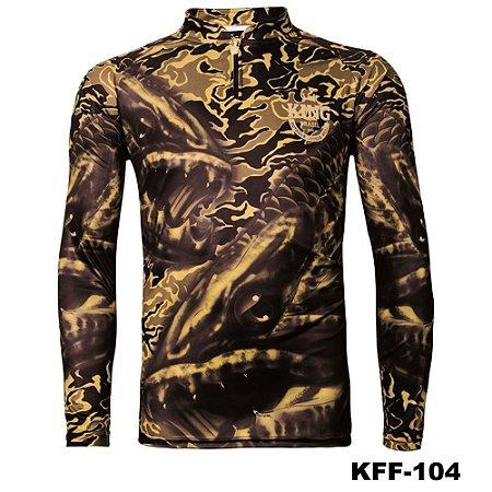 Camiseta de Pesca King Com Proteção Solar UV50+ - KFF104