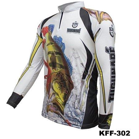 Camiseta de Pesca King Com Proteção Solar UV50+ - KFF302
